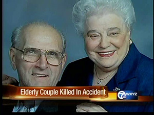 Couple killed in auto accident