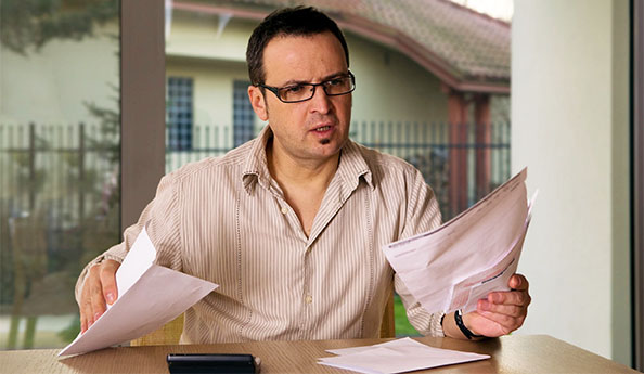 Image of confused man just put in charge of administering a Trust